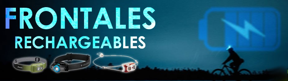 Frontales rechargeables