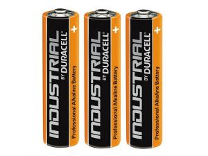 3 piles alcalines AAA LR03 Duracell Industrial