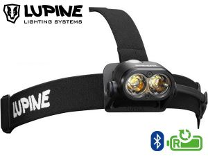 Frontale rechargeable Lupine PIKO RX DUO SC bluetooth 1500 lumens