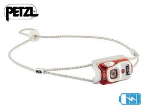 Lampe frontale rechargeable Petzl BINDI orange