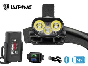 Lampe frontale rechargeable Lupine Blika R Pack All-in-one