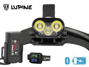 Lampe frontale rechargeable Lupine BLIKA RX4 SC bluetooth
