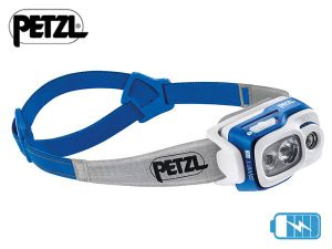 Lampe frontale rechargeable Petzl SWIFT RL Bleue