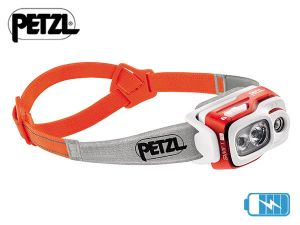 Lampe frontale rechargeable Petzl SWIFT RL Orange