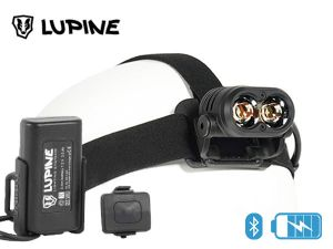 Frontale rechargeable Lupine PIKO RX4 Bluetooth 1900 lumens