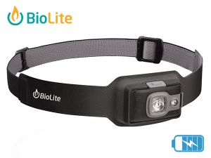 Lampe frontale rechargeable BioLite 200 Grise