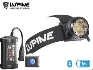 Lampe frontale rechargeable Lupine WILMA RX 7 bluetooth