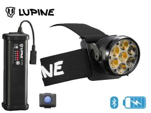 Lampe frontale rechargeable Lupine BETTY RX 14 bluetooth