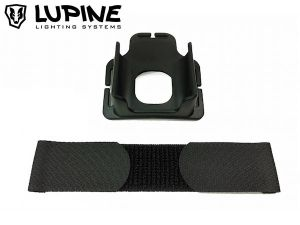Support casque pour Batteries Lupine FastClick