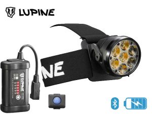 Lampe frontale rechargeable Lupine BETTY RX 7 bluetooth