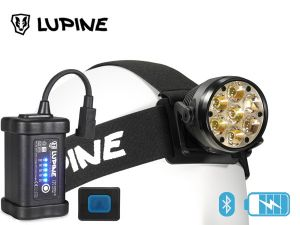 Lampe frontale rechargeable Lupine BETTY RX 7 5400 lumens