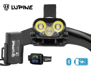 Lampe frontale rechargeable Lupine BLIKA RX4 bluetooth